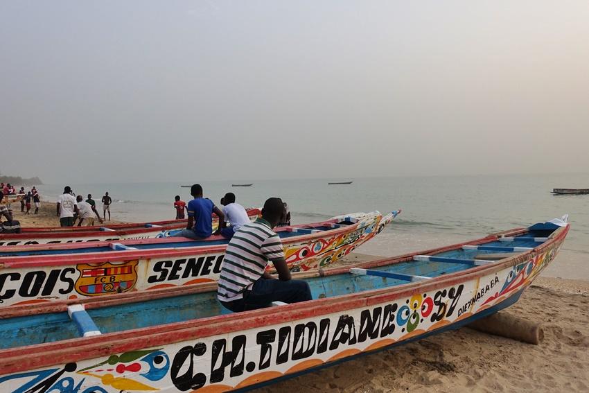 Boats in Senegal