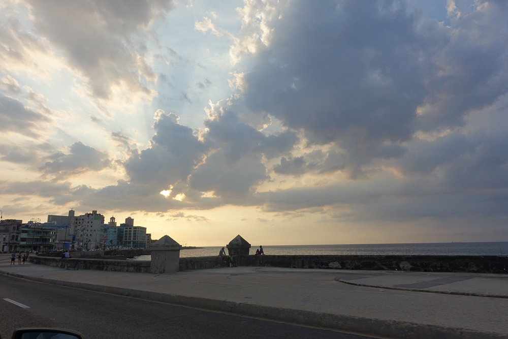 Malecon sunsets.