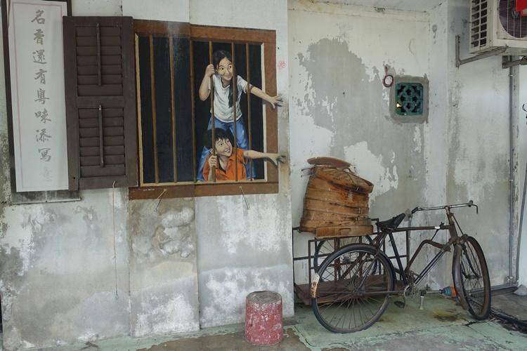 Street Art in Penang, Malaysia by Lori Zaino