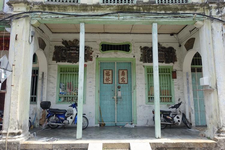 A house in Penang, Malaysia by Lori Zaino