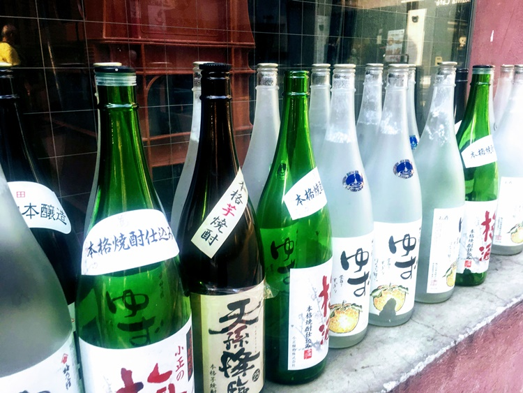 Bottles in Taiwan by Lori Zaino