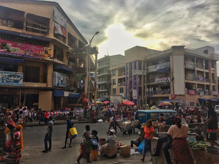 MARKOLA MARKET IN ACCRA GHANA by Lori Zaino