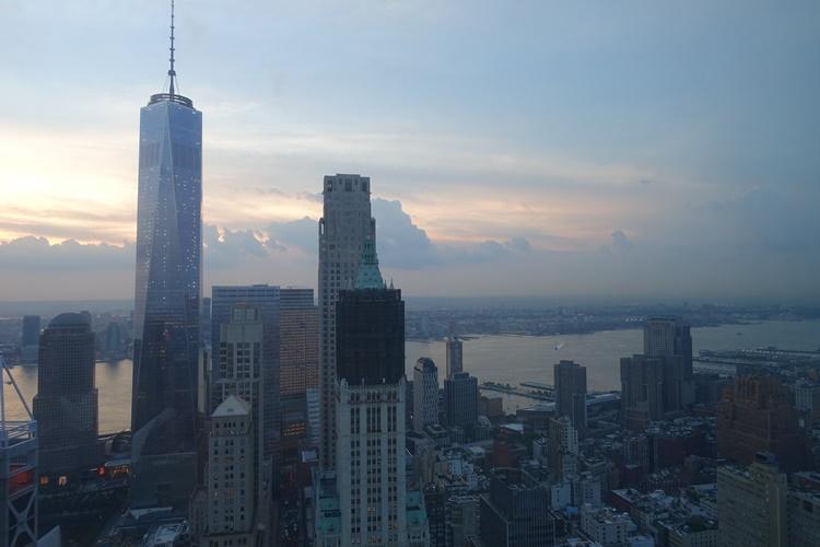 ONE WORLD TRADE NEW YORK by Lori Zaino