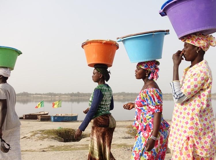 Women in Senegal by Lori Zaino