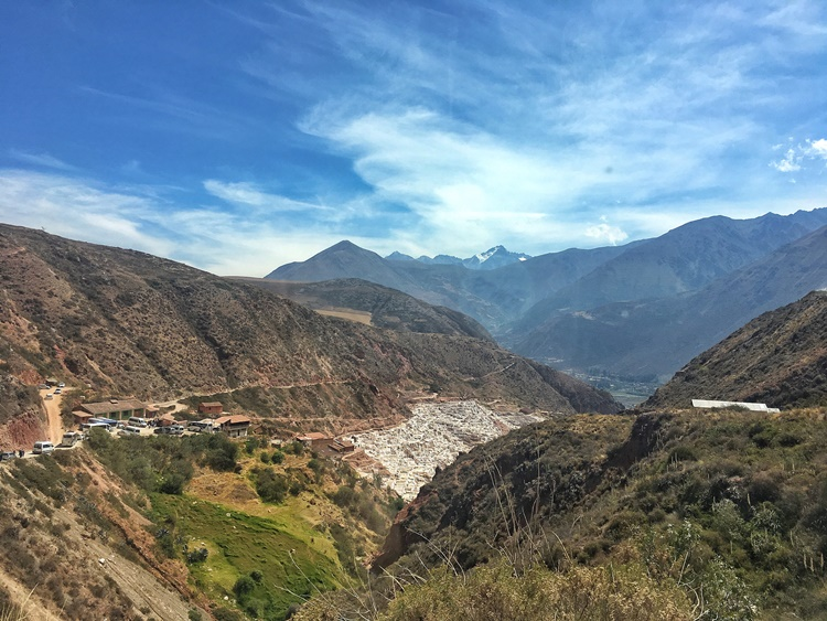 The hidden salt mines of Maras in the Sacred Valley of Peru by Lori Zaino