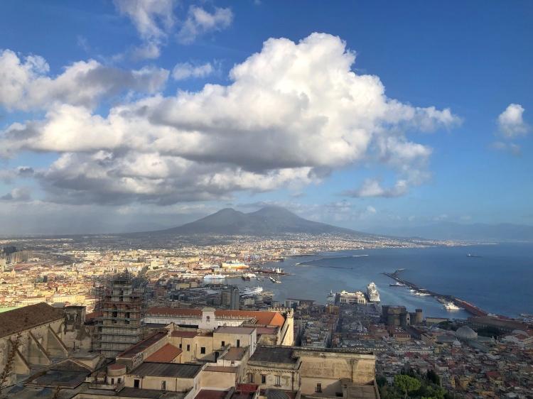 Naples, Italy by Lori Zaino